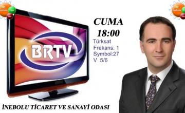 İnebolu TSO Karabük BR TV Ekranlarında