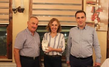Genel Sekreterimiz Melek DARENDE'ye Veda Yemeği