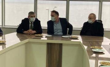 AKP İl Başkanlığı'ndan Odamızı Ziyaret